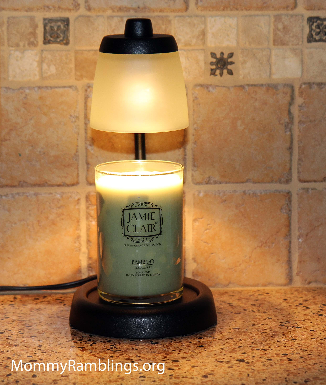 candle warmer lamp photo - 1