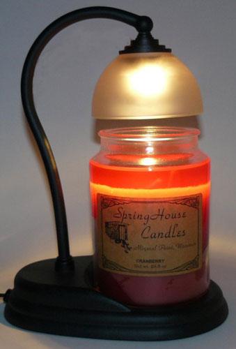 candle warmer lamp photo - 2