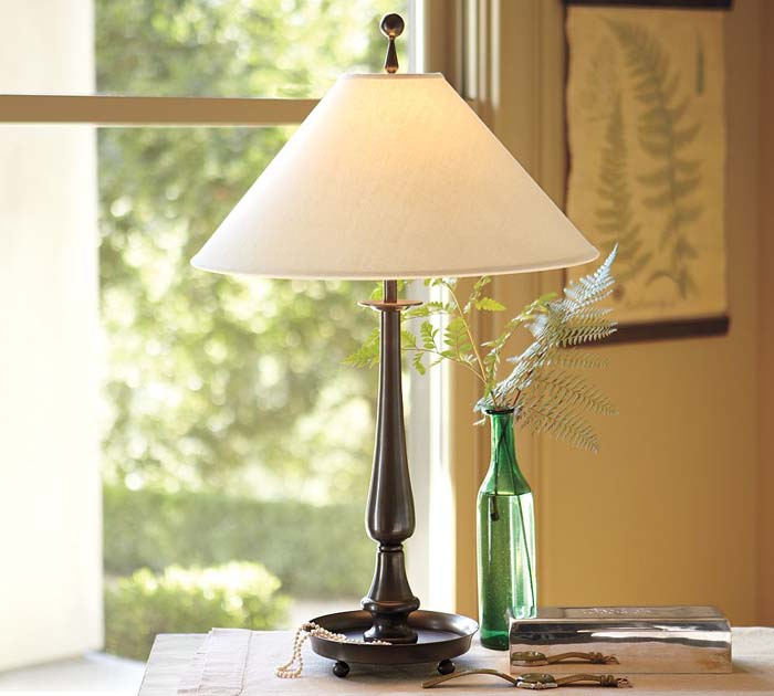 candlestick table lamps photo - 2