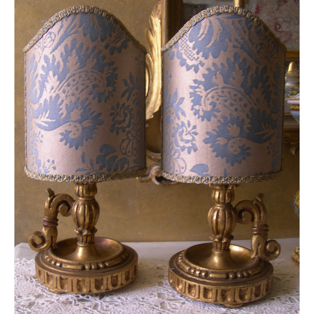 candlestick table lamps photo - 4