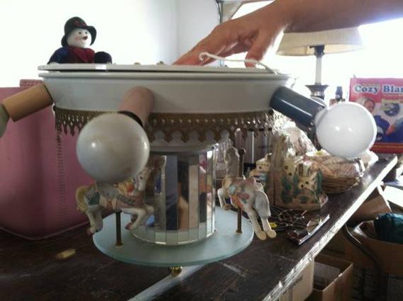 carousel ceiling fan photo - 10