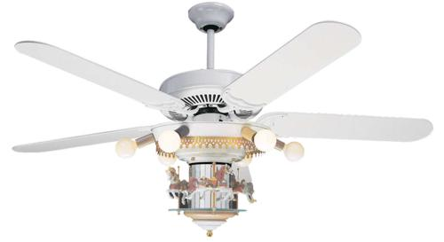 Carousel Ceiling Fan Purify Air And Bring Beauty To Your