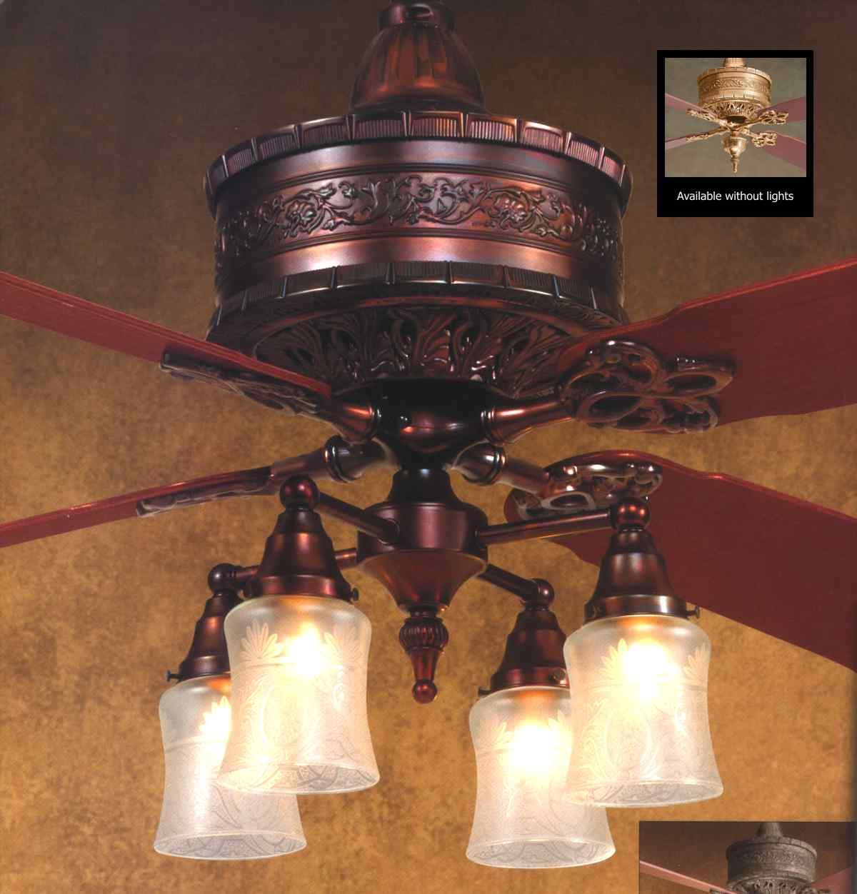 casablanca 19th century ceiling fan photo - 10
