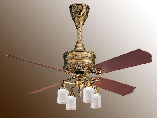 casablanca 19th century ceiling fan photo - 4