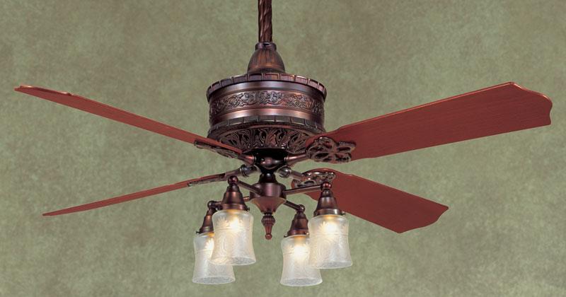 casablanca 19th century ceiling fan photo - 9