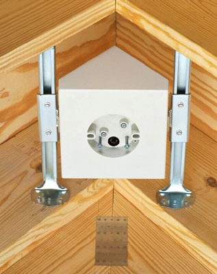 cathedral ceiling fan mount photo - 1