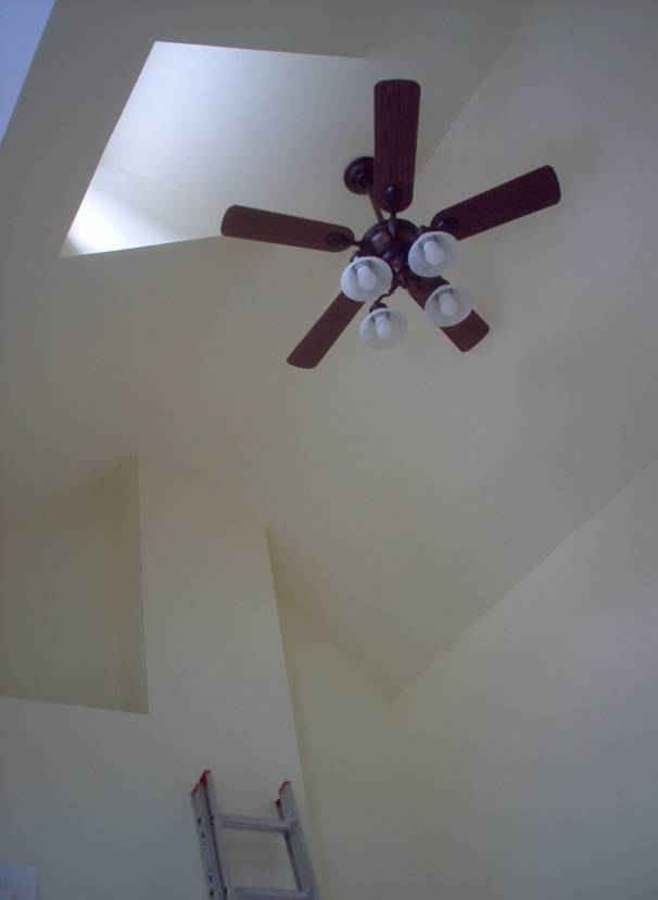 cathedral ceiling fan mount photo - 7
