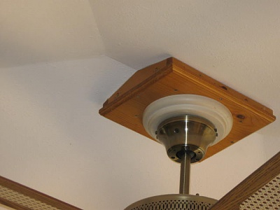 cathedral ceiling fan mount photo - 9