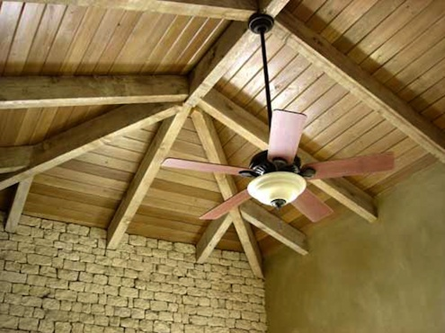 cathedral ceiling fans photo - 9