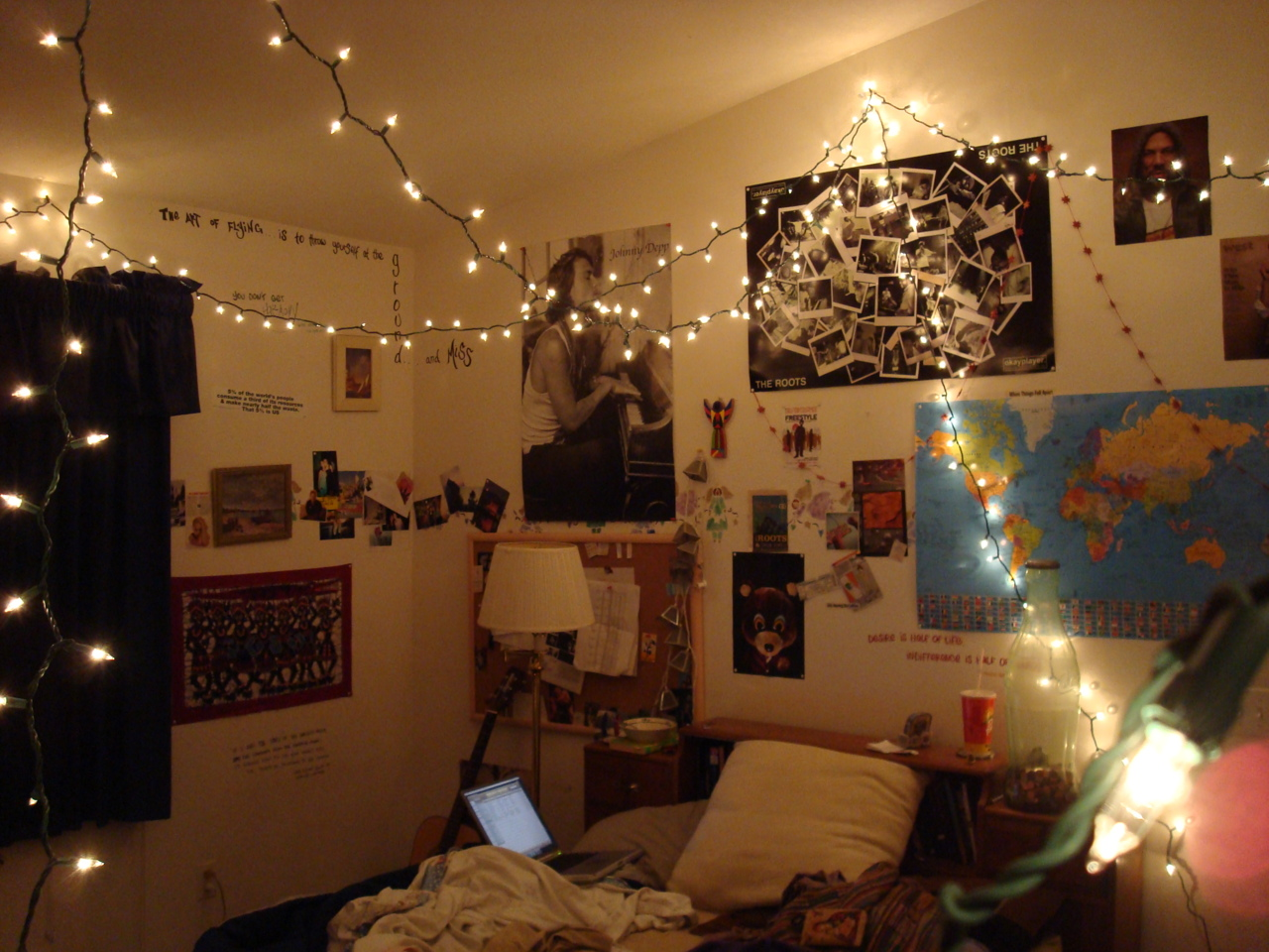 ceiling christmas lights photo - 3