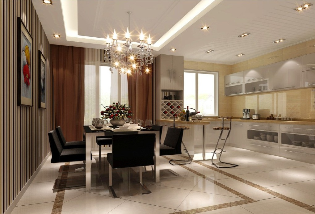 ceiling dining room lights photo - 3