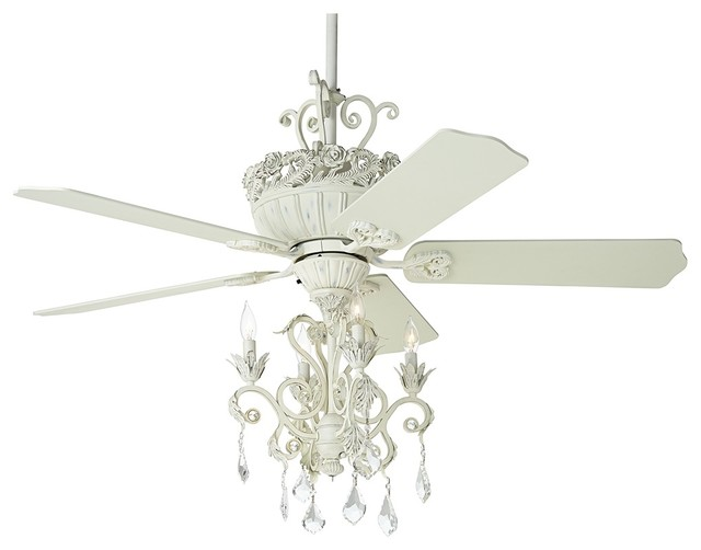 ceiling fan chandelier light photo - 7