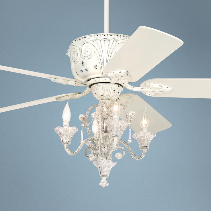 ceiling fan chandeliers photo - 1