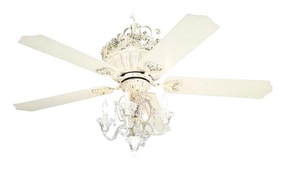 ceiling fan crystal chandelier light kits photo - 3