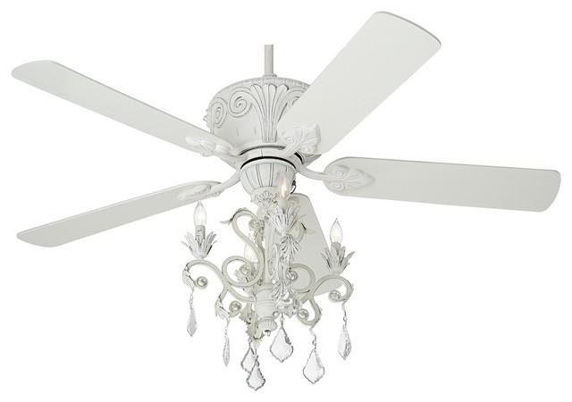 ceiling fan crystal chandelier light kits photo - 4