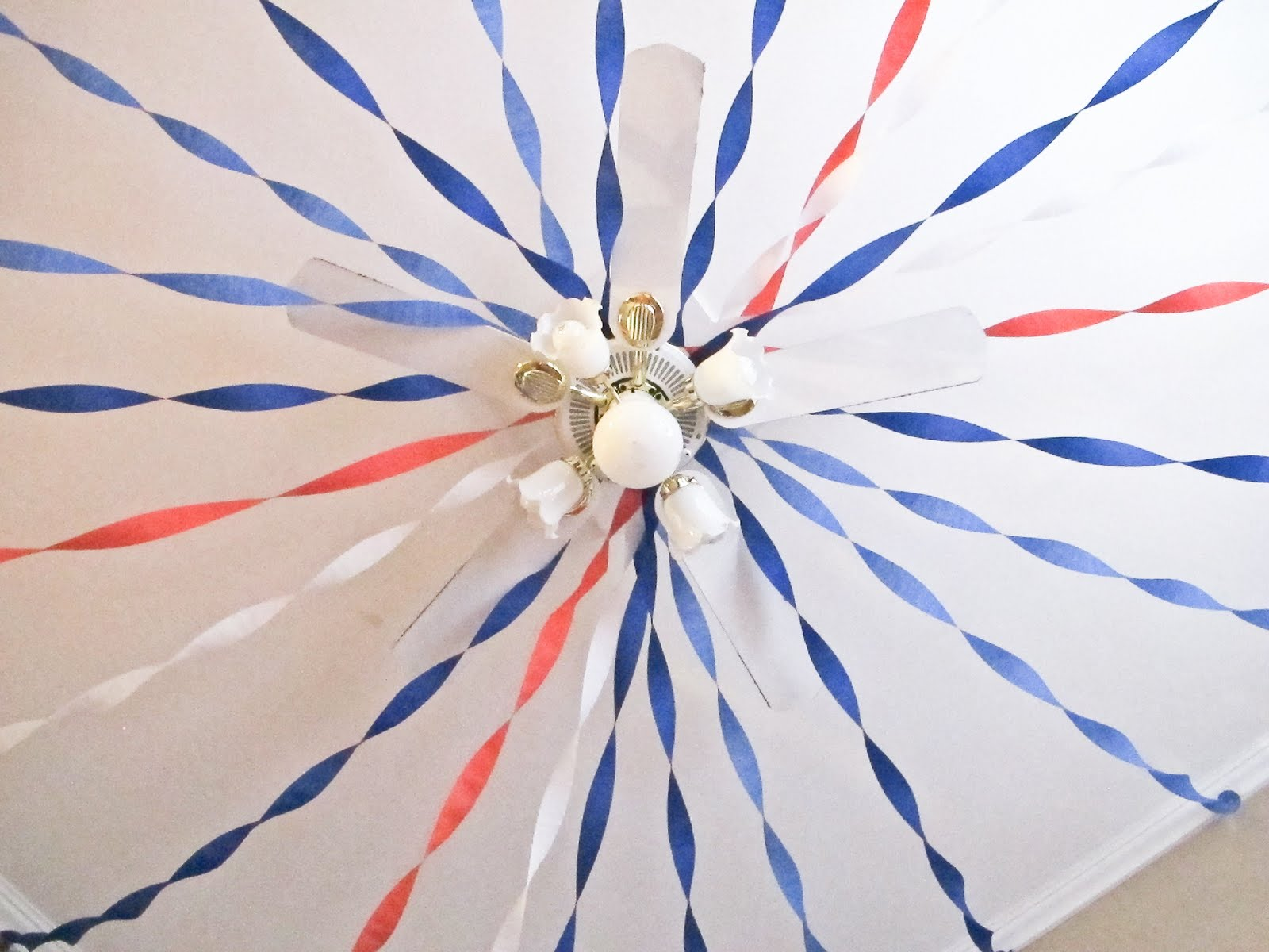 ceiling fan decorations photo - 4
