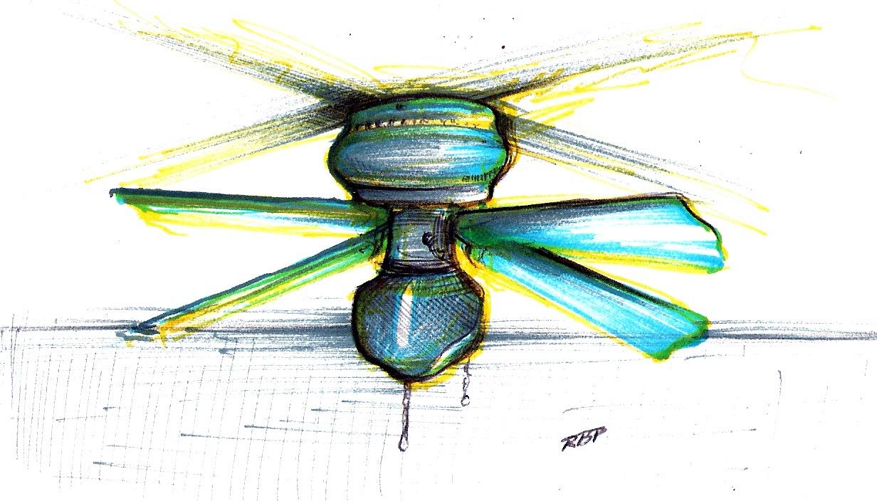 ceiling fan drawing photo - 9