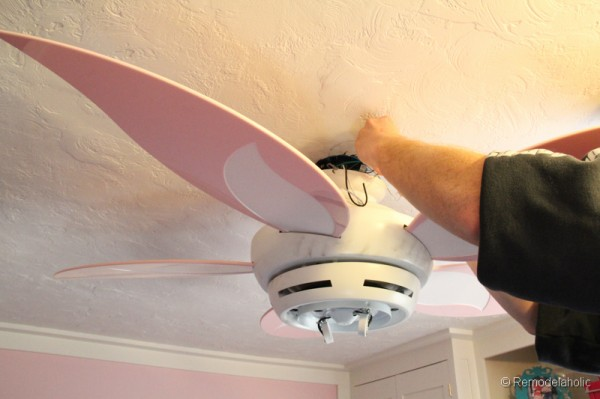 ceiling fan for girls room photo - 10