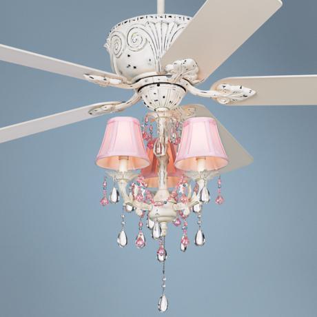 ceiling fan for girls room photo - 7