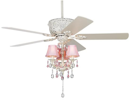 ceiling fan for girls room photo - 9