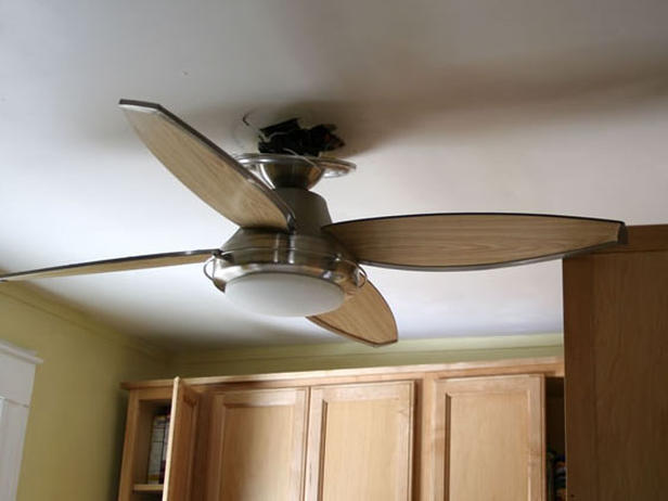 ceiling fan for kitchen photo - 2