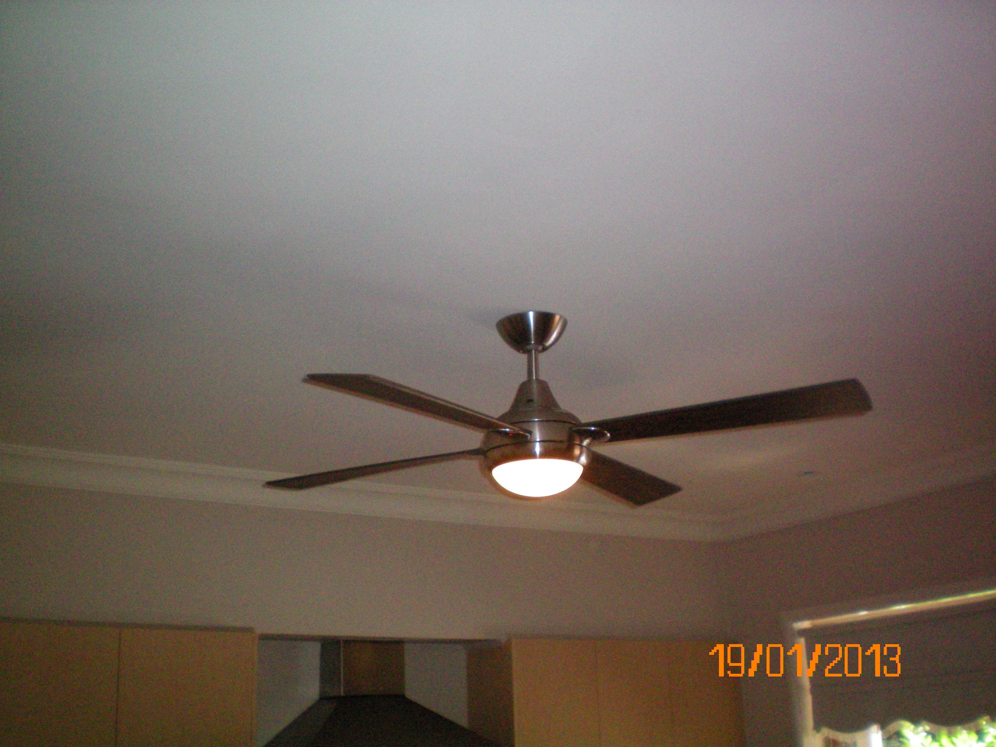 ceiling fan for kitchen warisan lighting. Black Bedroom Furniture Sets. Home Design Ideas