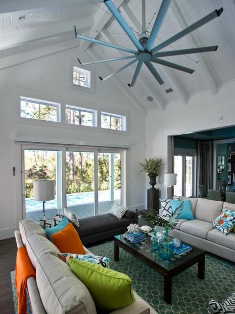 ceiling fan for living room photo - 2