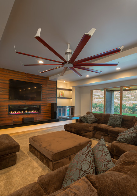 top 10 ceiling fans for living room 2019 warisan lighting. Black Bedroom Furniture Sets. Home Design Ideas