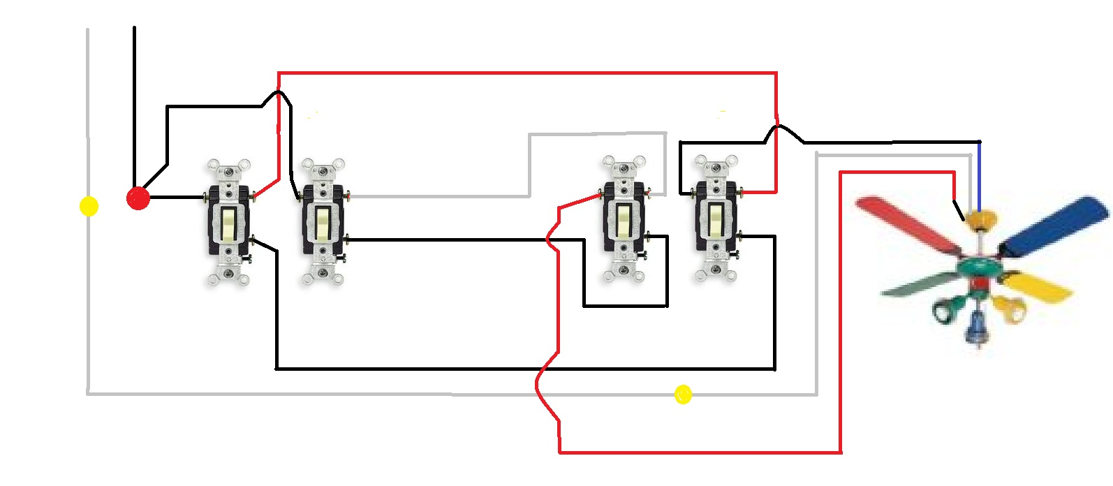 wiring diagram for fan light switch wiring image wiring diagram for ceiling light and switch wiring on wiring diagram for fan light