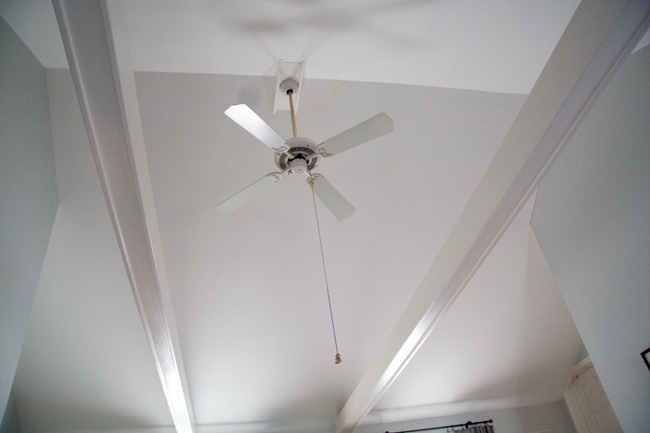 ceiling fan on vaulted ceiling photo - 1