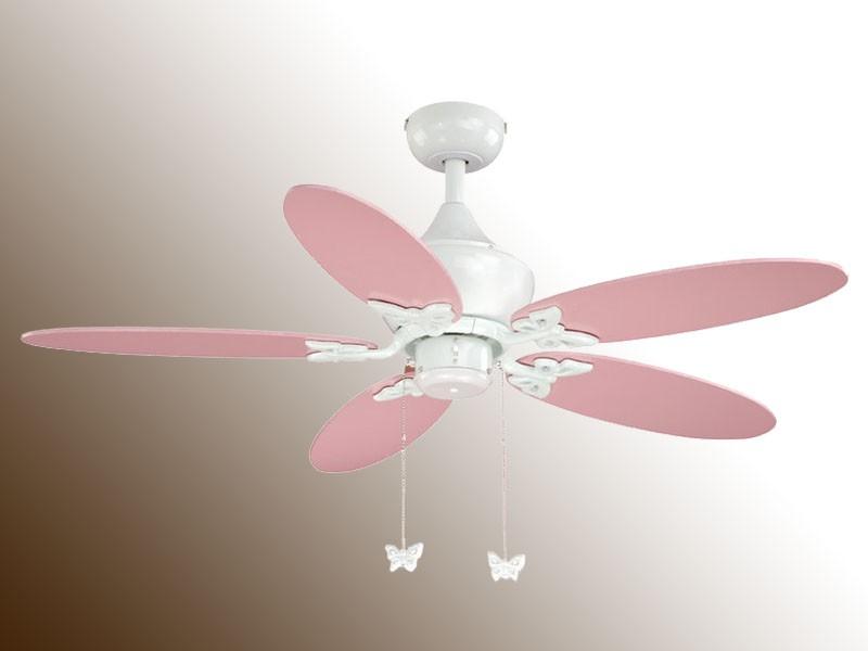 girls pink ceiling fan