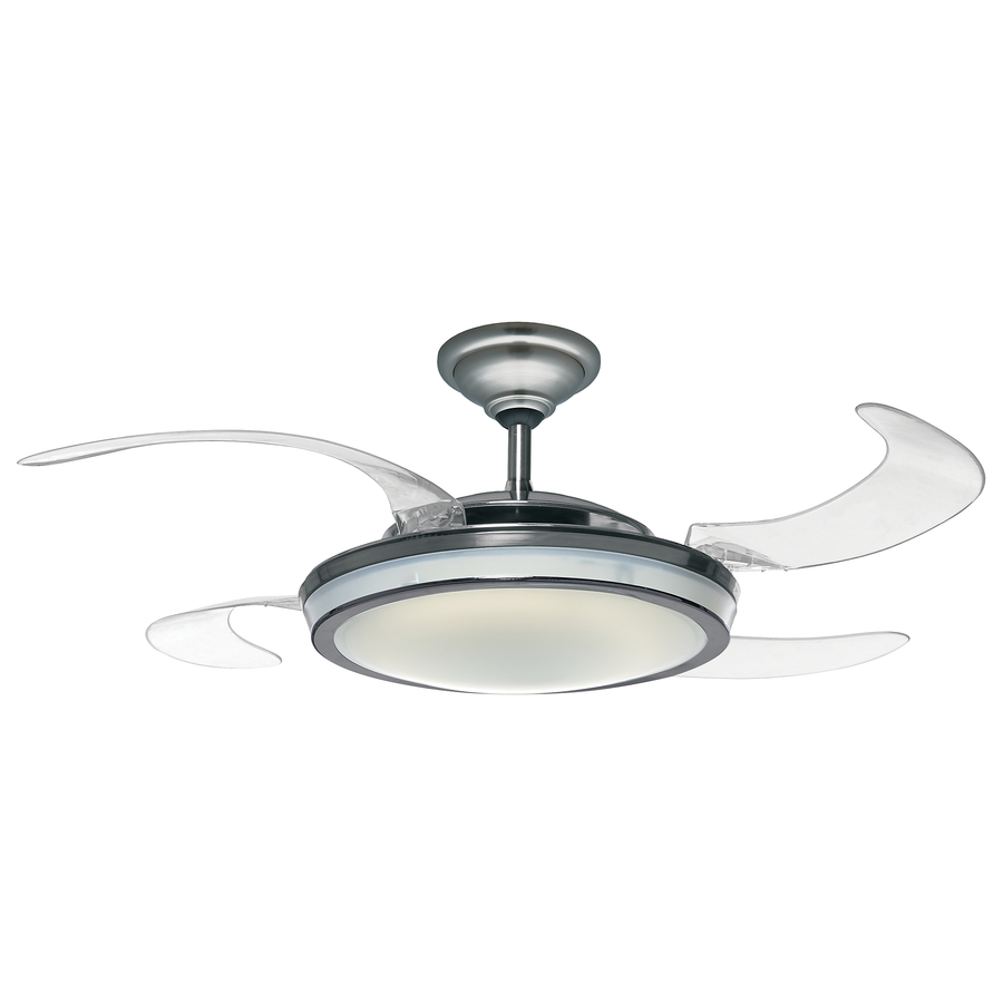 ceiling fan retractable blades photo - 7