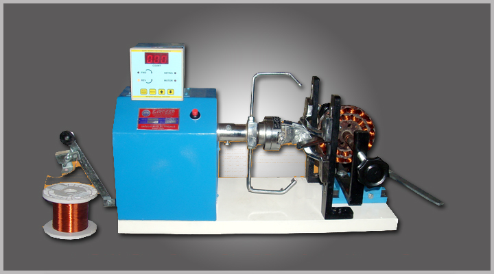 ceiling fan rewinding machine photo - 7
