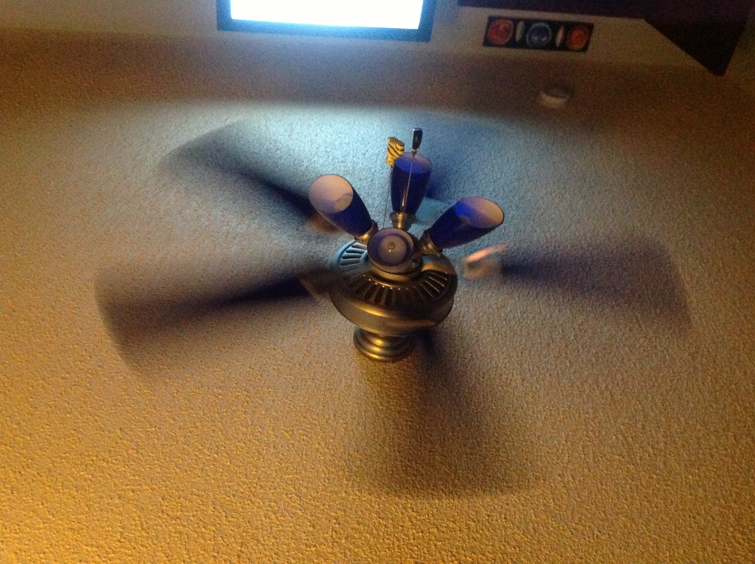 ceiling fan spin photo - 6