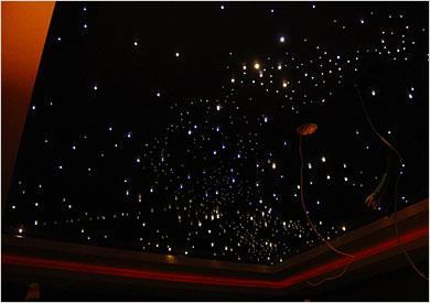 ceiling fibre optic lights photo - 4