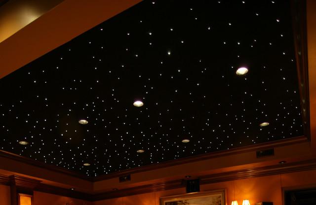 ceiling fibre optic lights photo - 9