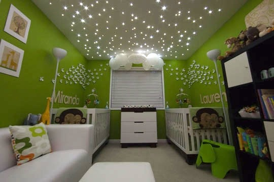 ceiling led star lights photo - 3