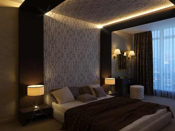 ceiling light bedroom photo - 2