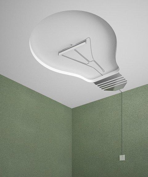 ceiling light bulb photo - 1