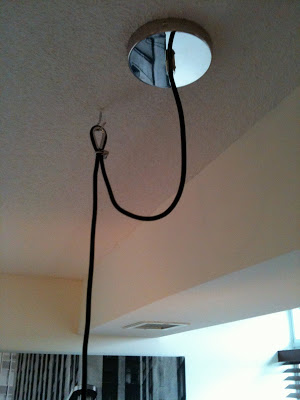 ceiling light hooks photo - 10