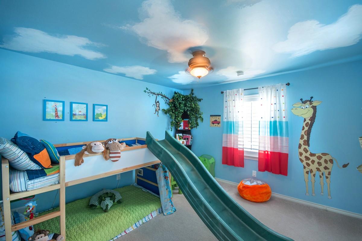 ceiling light kids room photo - 1