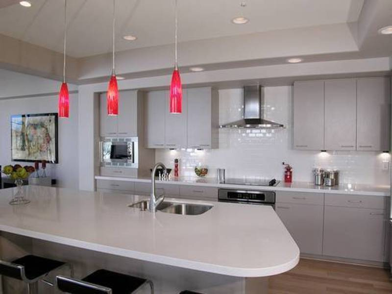 ceiling light kitchen photo - 7