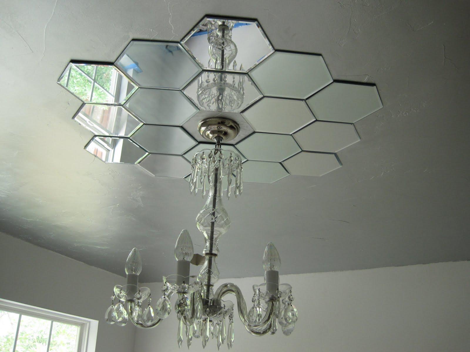 ceiling light medallions photo - 4