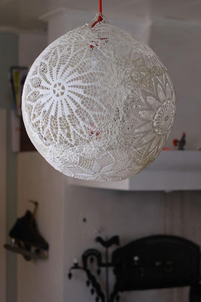 Diy Ceiling Light Shades