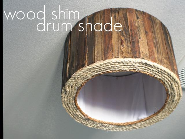 ceiling light shade diy photo - 5