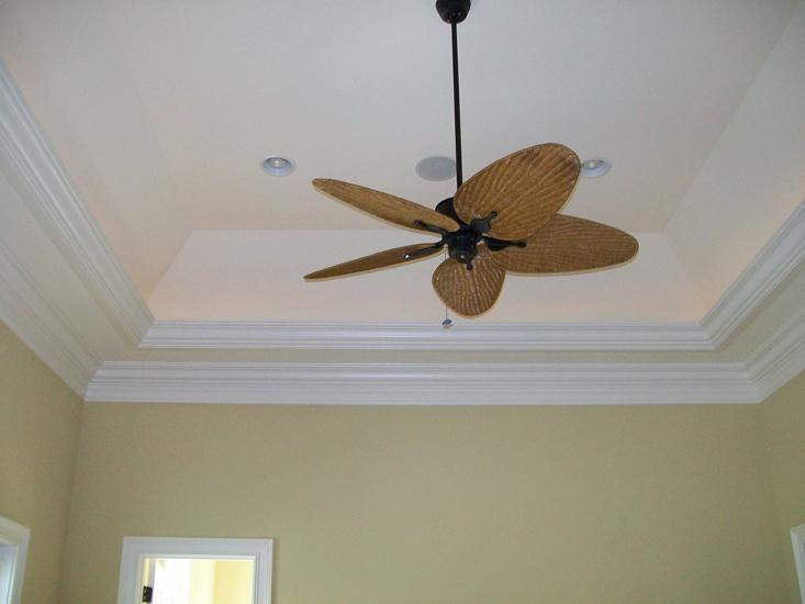 ceiling light trim photo - 7