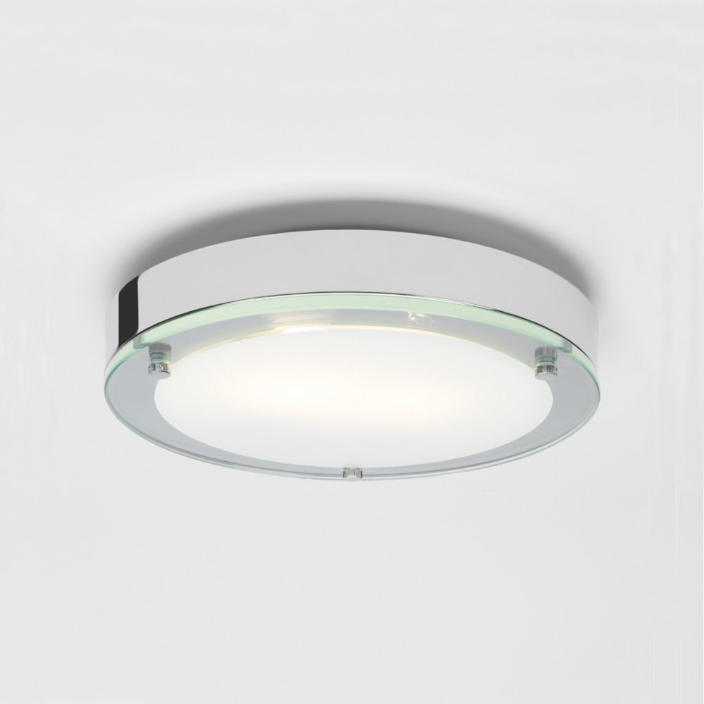 ceiling mount bathroom light photo - 1