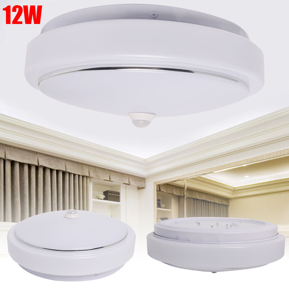 ceiling mounted motion sensor lights photo - 9