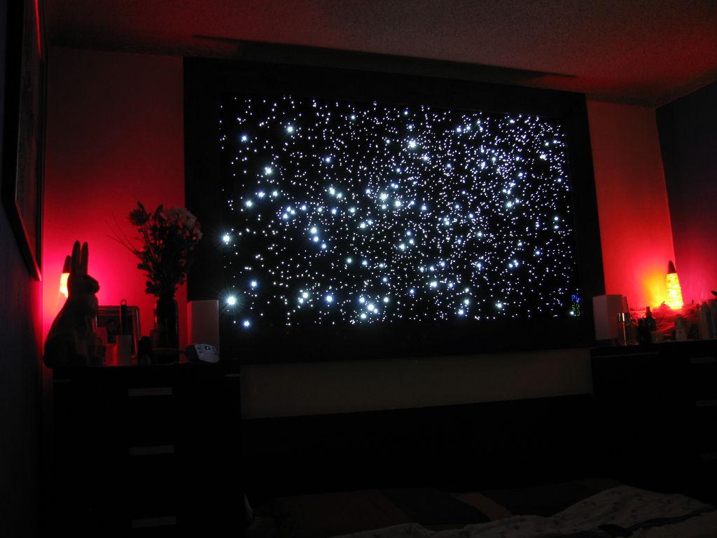 ceiling star lights fiber optic photo - 7