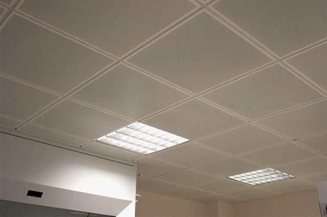 ceiling tiles lights photo - 1